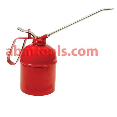 Oil Can Perfecto Type - Oil Cans supplied with fitted spout and a loose interchangeable rigid spout.