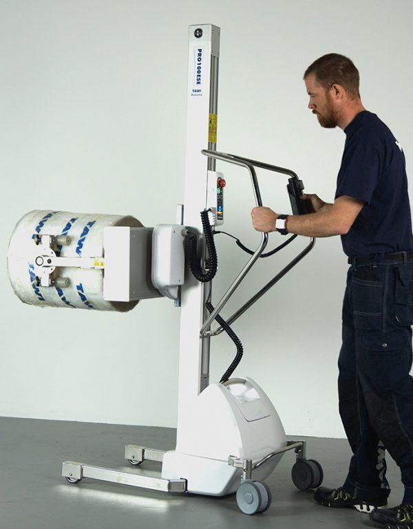 Stainless steel lifting trolleys - null