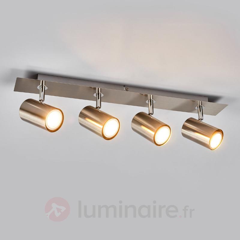 Lampe de cuisine Merle à quatre lampes - Spots et projecteurs halogènes