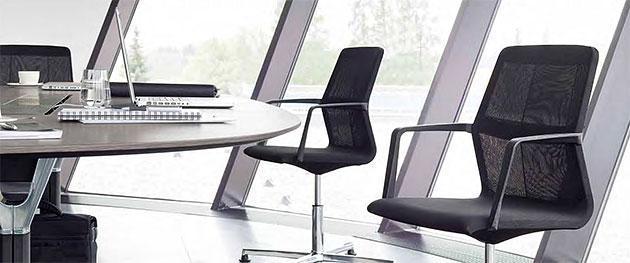 Konferenzstuhl ayo - cooles Sitzklima für Meetings
