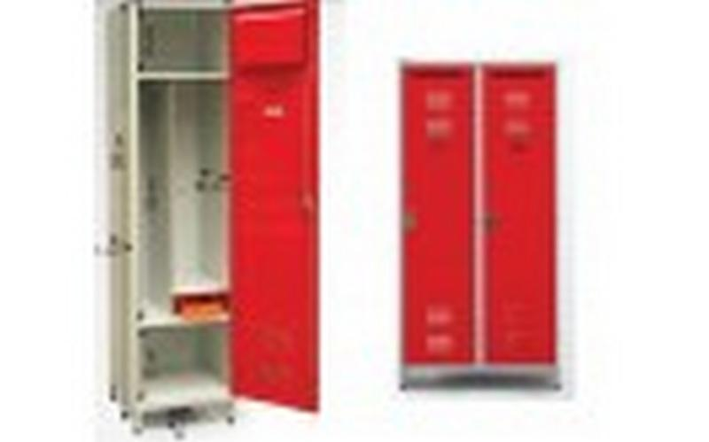 Fire station cupboard - double - null