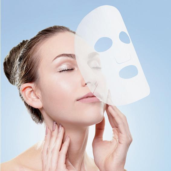 Masque visage en tissu - masque cosmétique en tissu - 1, 2 ou 3 couches