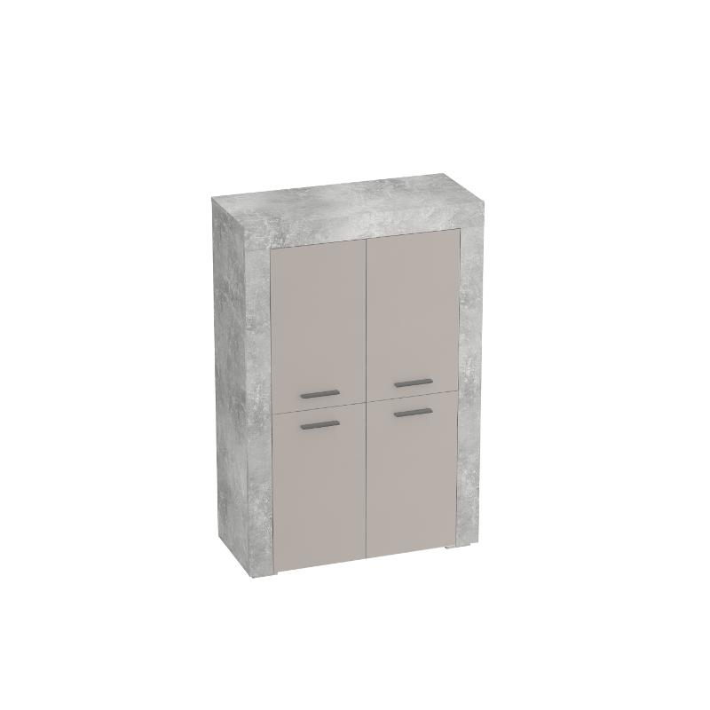 Oslo Cabinet With Four Doors - Living room furniture