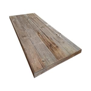 Grey sun burned table - Barn wood table