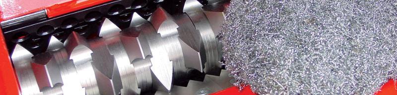 ERDWICH Single-Shaft Shredder - shredding machines