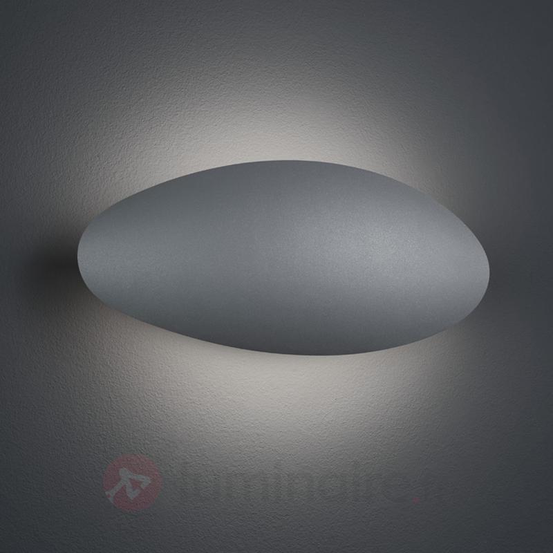 Applique LED d'extérieur Missouri, gris titane - Appliques d'extérieur LED