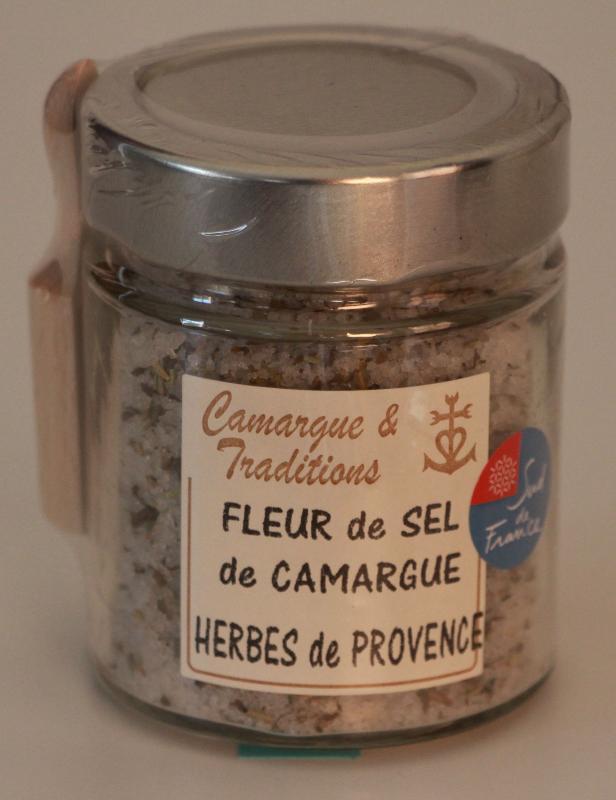 POT ROND ET SA PELLE A SEL - FLEUR DE SEL DE CAMARGUE... - Epicerie salée