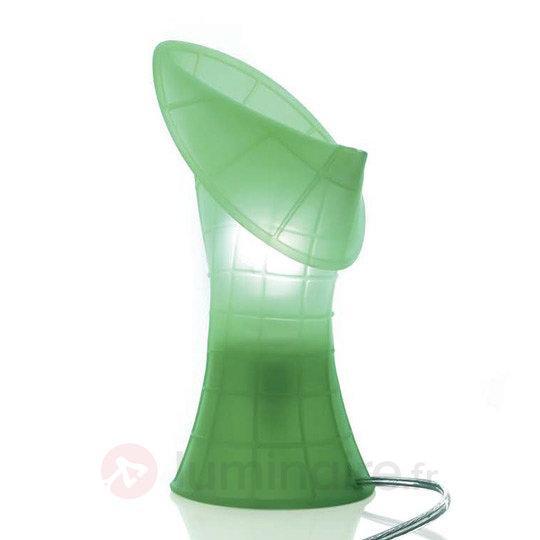 Lampe à poser Birzi en silicone, vert - Lampes à poser designs