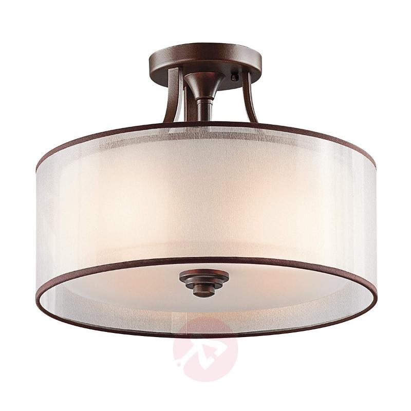 Lacey semi-flush ceiling light - Ceiling Lights