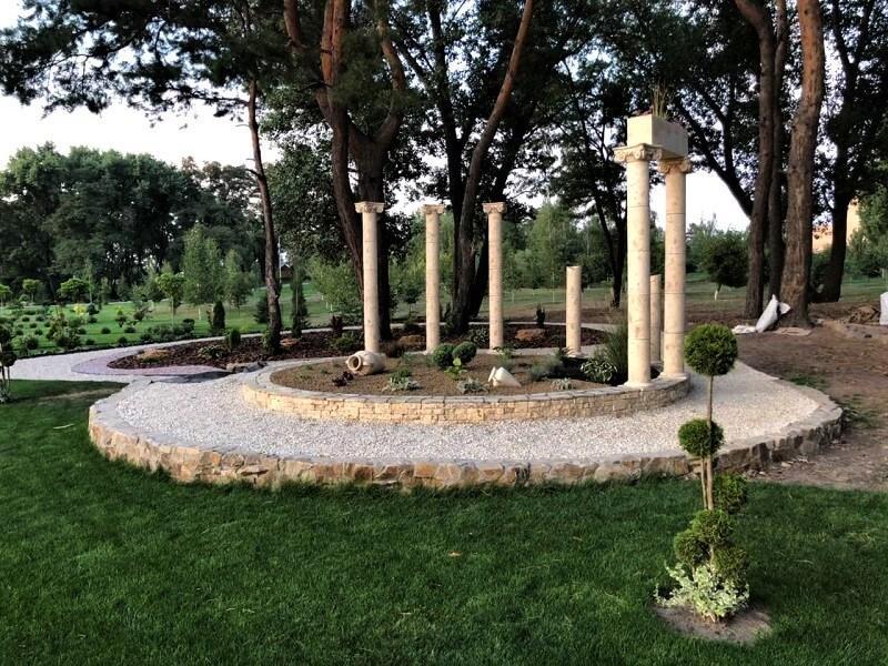 Ландшафтная архитектура (колонны)  - Колонны для ландшафтного дизайна