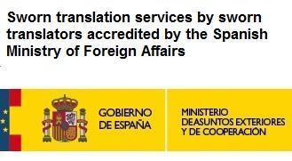 Spanish to English sworn translators - null