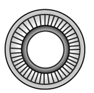 AFNOR-Kontaktscheiben, Typ M - Material A2 | A4