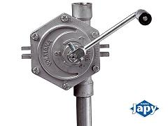 Pompe manuelle nue rotative inox  - 316L - RI 2
