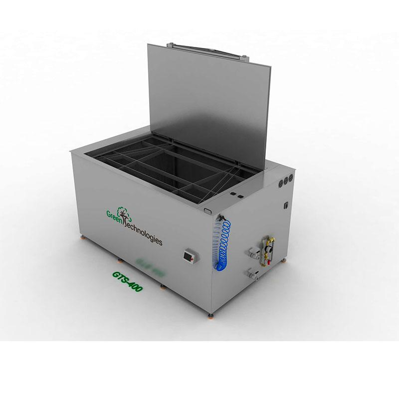 Lavadora de piezas por ultrasonidos