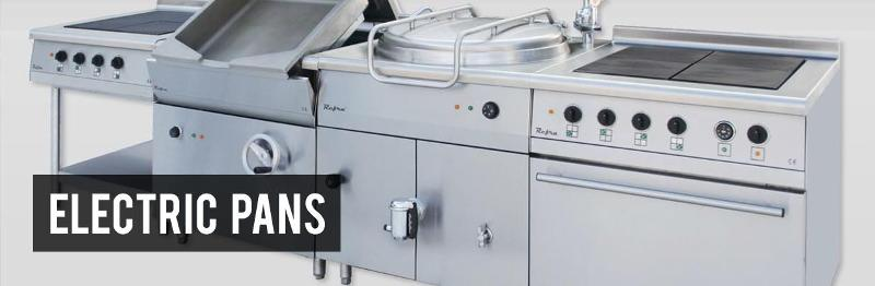 Food service - Electric pans