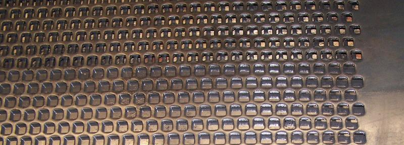 Perforated metal sheets according to DIN 24041 - null