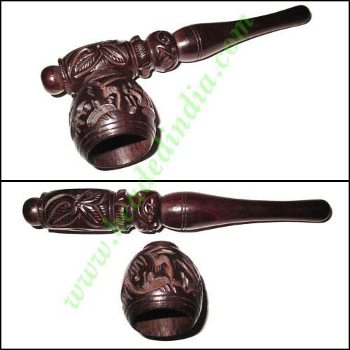 Handmade rosewood smoking pipe, size : 5 inch pipe - Handmade rosewood smoking pipe, size : 5 inch pipe