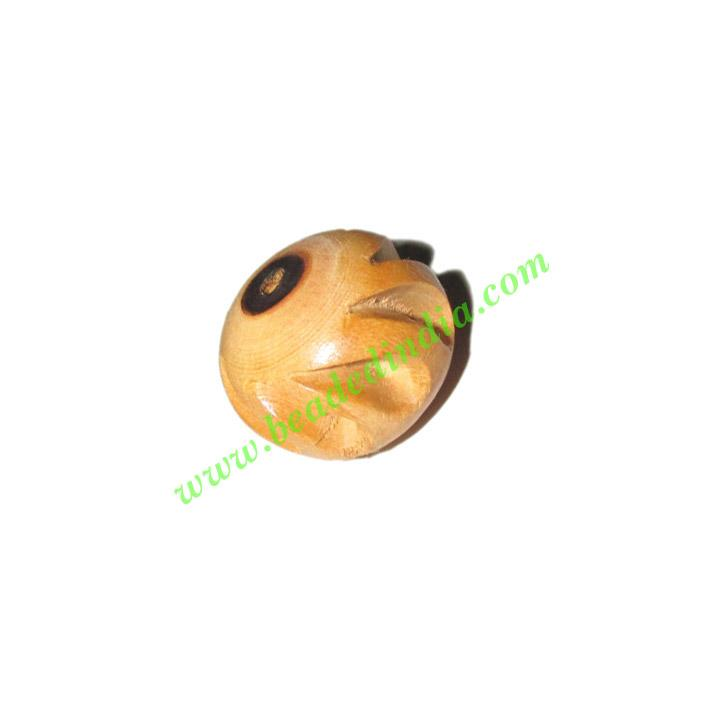 Natural Color Wooden Beads, size 16x19mm, weight approx 2.16 - Natural Color Wooden Beads, size 16x19mm, weight approx 2.16 grams
