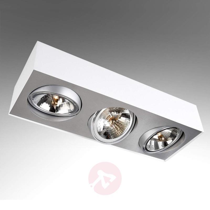 3-bulb ceiling spotlight Bloq - Spotlights