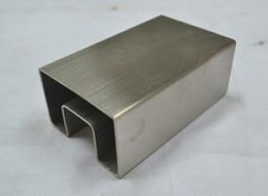304 316 Stainless Steel Square Slotted Pipes