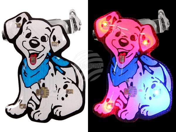 Blinki Blinker weiss Motiv: Hund - null