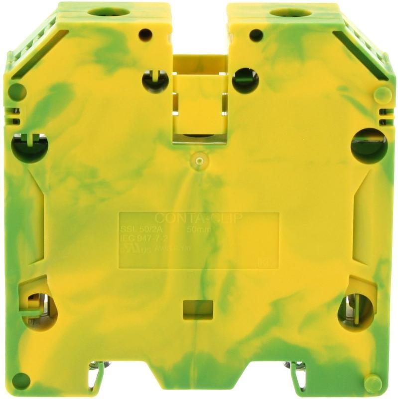 SSL 50/2A GNYE   Schutzleiterklemme - null