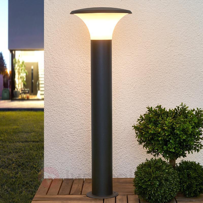 Éclairage pour chemin à aspect moderne Berina alu - Toutes les bornes lumineuses
