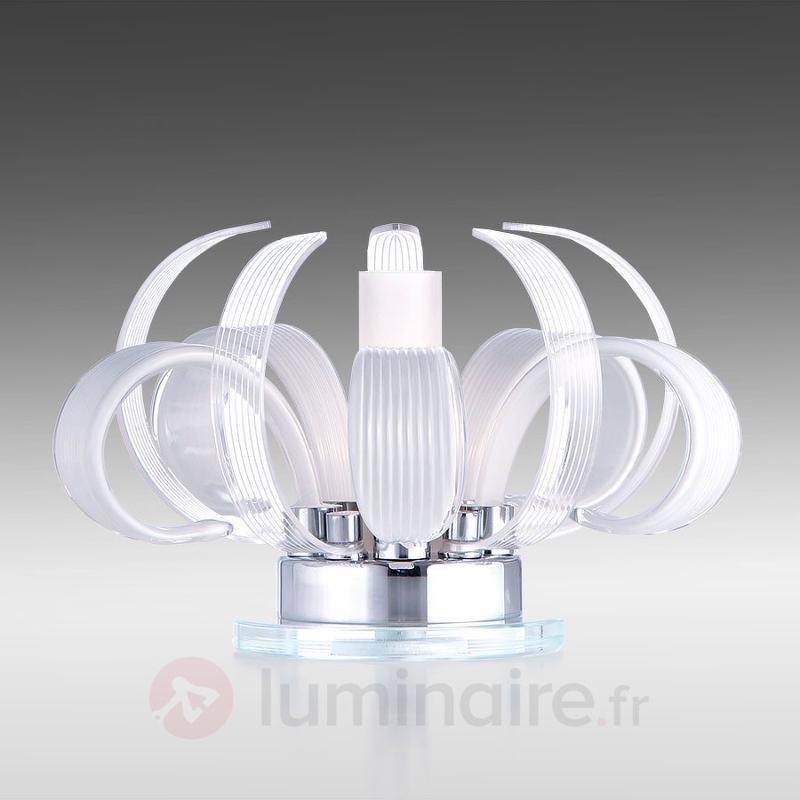Lampe à poser florale Mama blanche - Toutes les lampes à poser