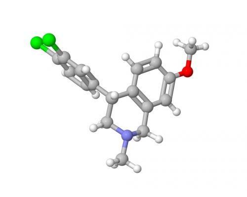 Diclofensine (Ro 8-4650) drug