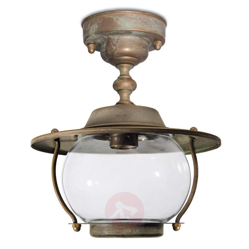 Adessora outdoor ceiling light - seawater-res. - Outdoor Ceiling Lights