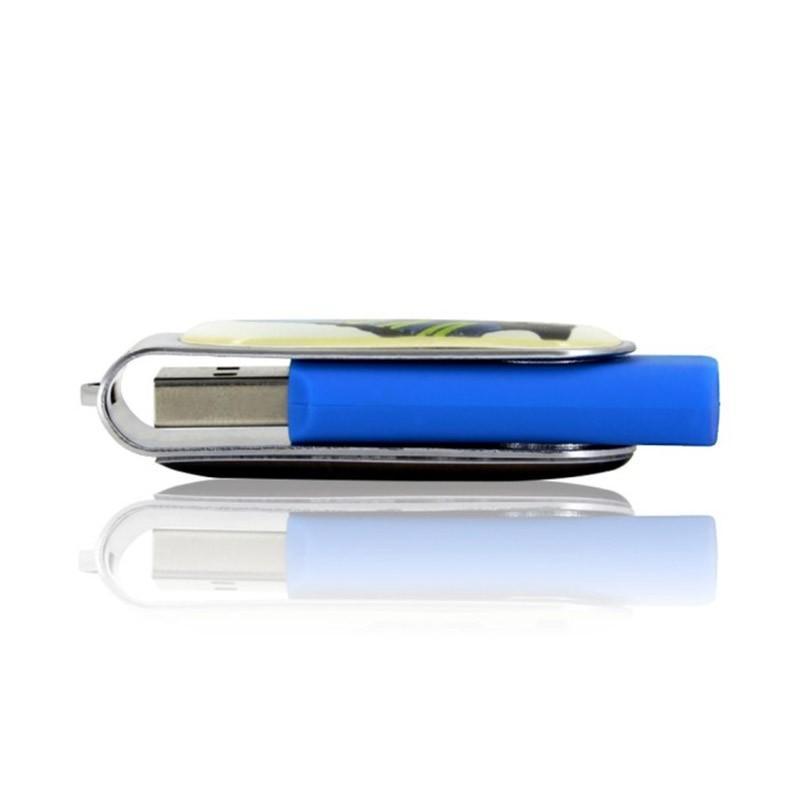 Cle USB Pivotante Doming - Clé USB Publicitaire