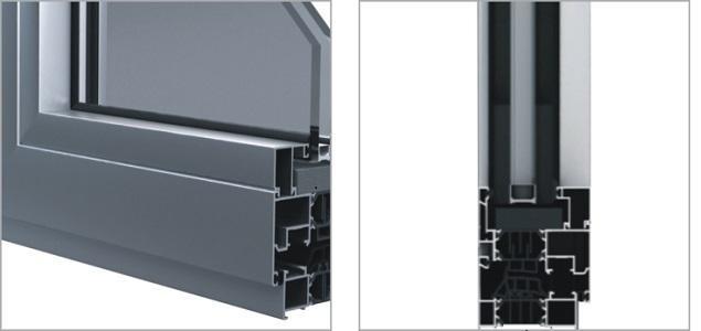 Finestre in alluminio - CORTIZO 60