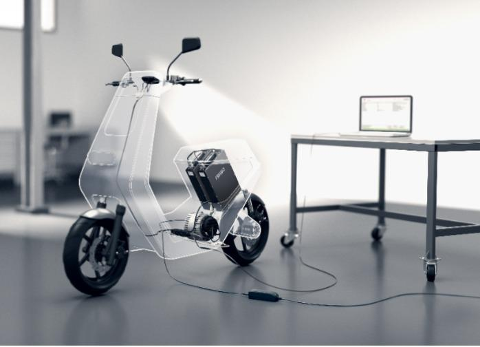 Electric Scooters - (application example)