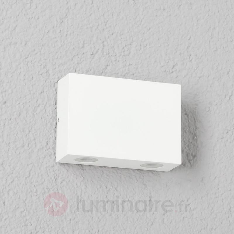 Applique d'extérieur LED Henor à 4 lampes blanc - Appliques d'extérieur LED