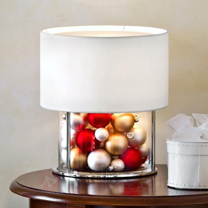 Lampe à poser Boston à décorer - Lampes de chevet