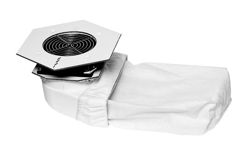 Max Storm Мощный встраиваемый пылесос - Встроенные пылесосы для маникюра