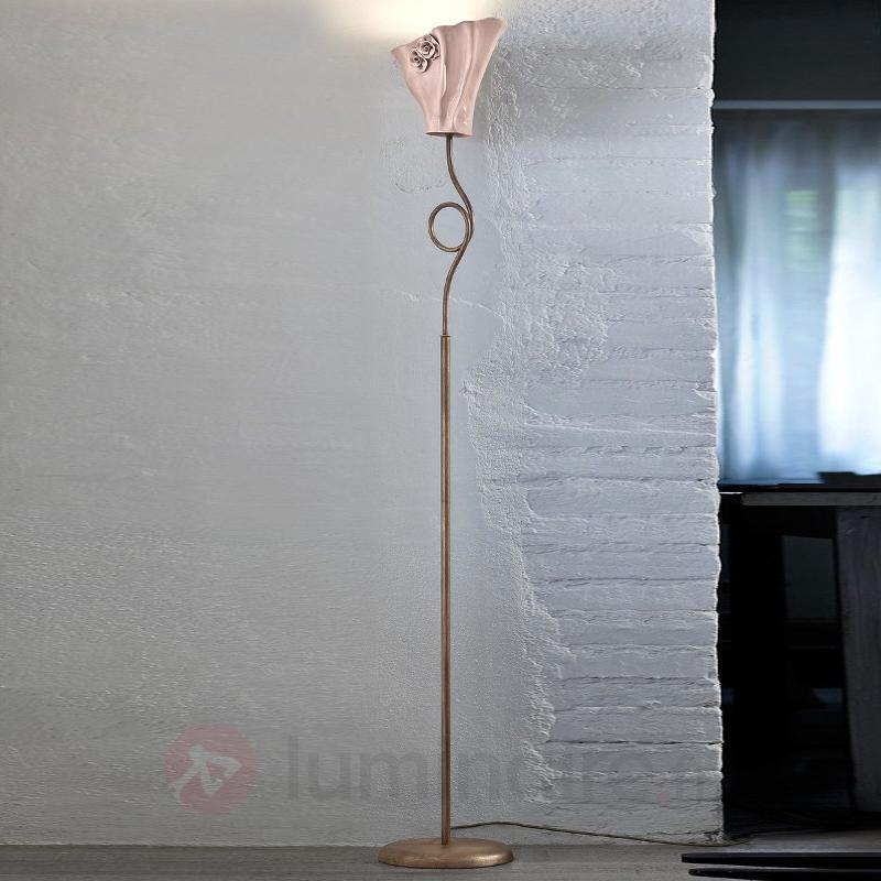 Lampadaire à éclairage indirect chaleureux Elisa - Lampadaires à éclairage indirect