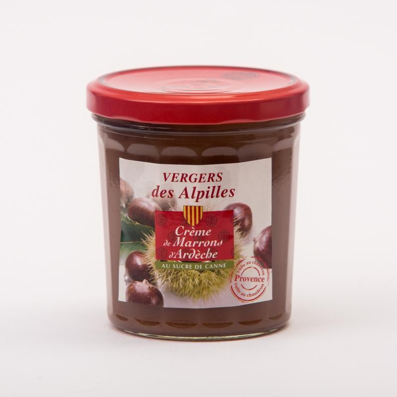 Crème de Marrons d'Ardèche - Confitures au sucre de canne Vergers des Alpilles