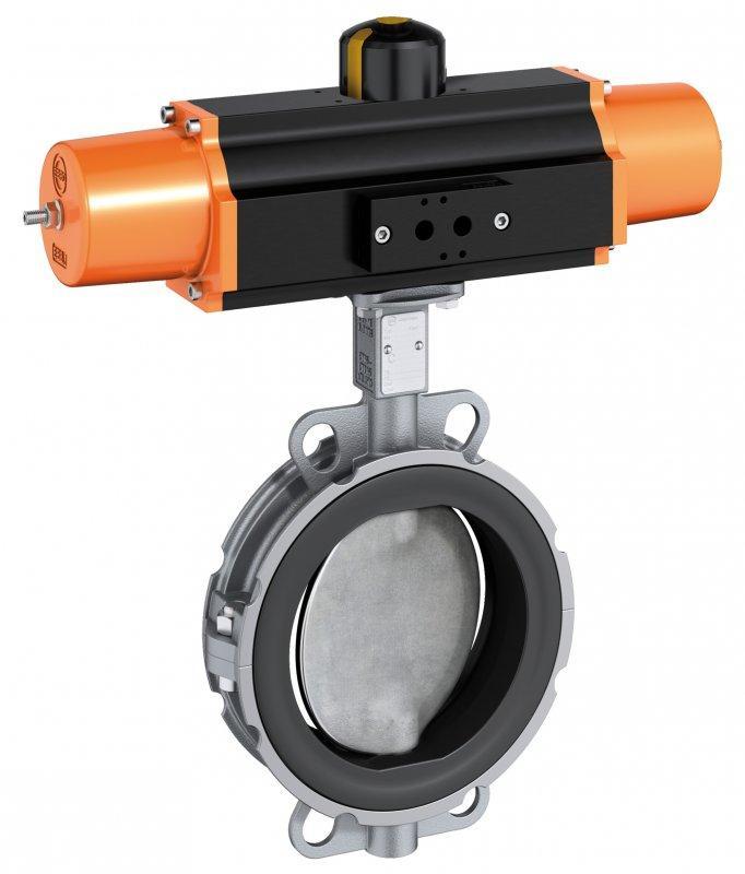 Válvula de cierre y control tipo Z 611-K - Válvula para la industria alimentaria y de bebidas.
