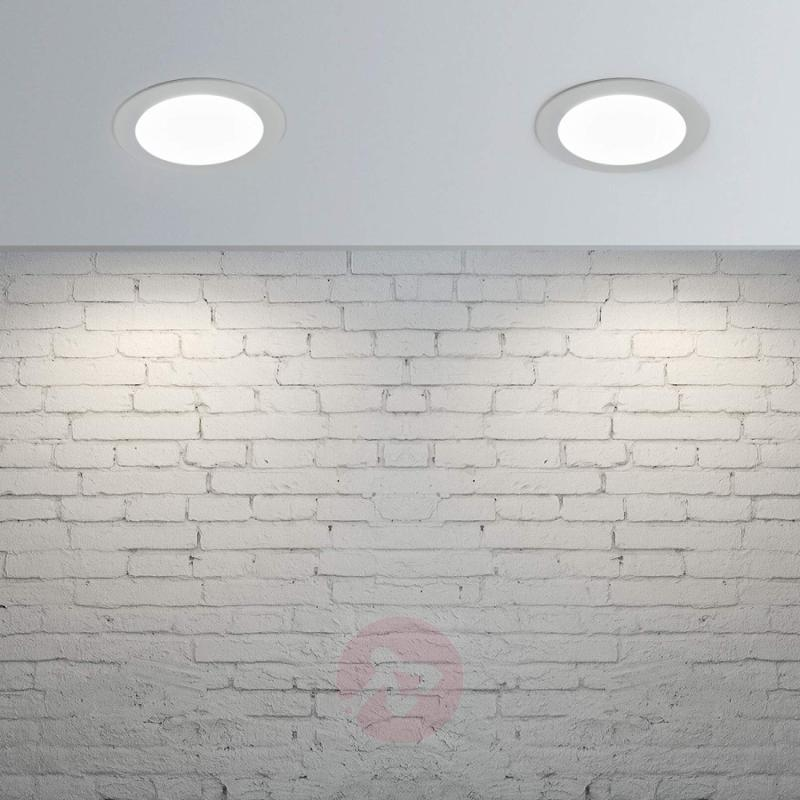 LED recessed spotlight Piet, IP44, 8.5 W - indoor-lighting