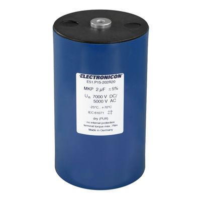 E51 AC/DC capacitor - High voltage, low inductance, AND longest possible operation without failures