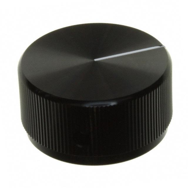 "SWITCH KNOB STRAIGHT 1.252"" BLK - TE Connectivity ALCOSWITCH Switches KLN1250B1/4"