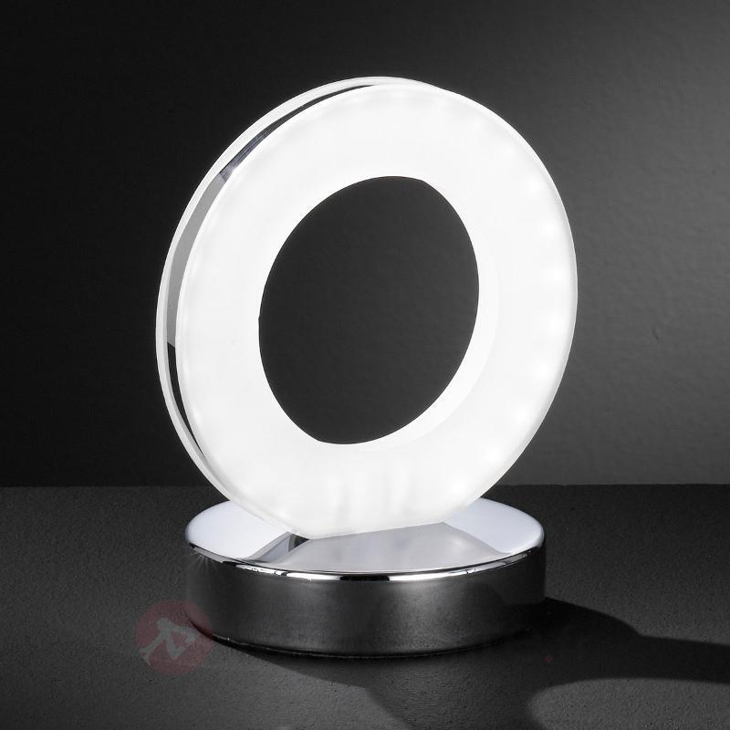 Lampe à poser en forme d'anneau Ole - Lampes à poser LED