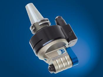 Input coolant from stop-block, and output through tool spindle. - TA07.PD