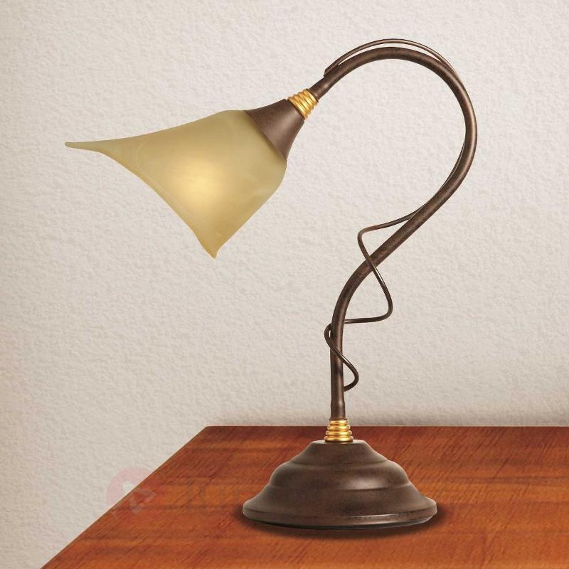 Lampe à poser rustique Matteo - Lampes à poser rustiques