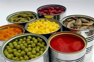 Italian preserved food  - Canned product