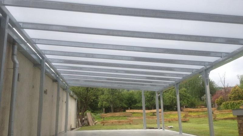 Synthétique Pergola polycarbonate - null