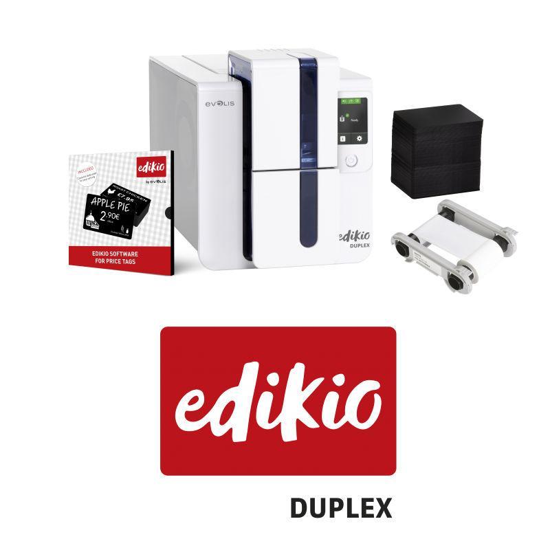 Imprimante étiquettes de prix Evolis Edikio Duplex