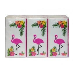 Pañuelos LEVIAN FLAMENCO P6x10 - Pañuelo de papel