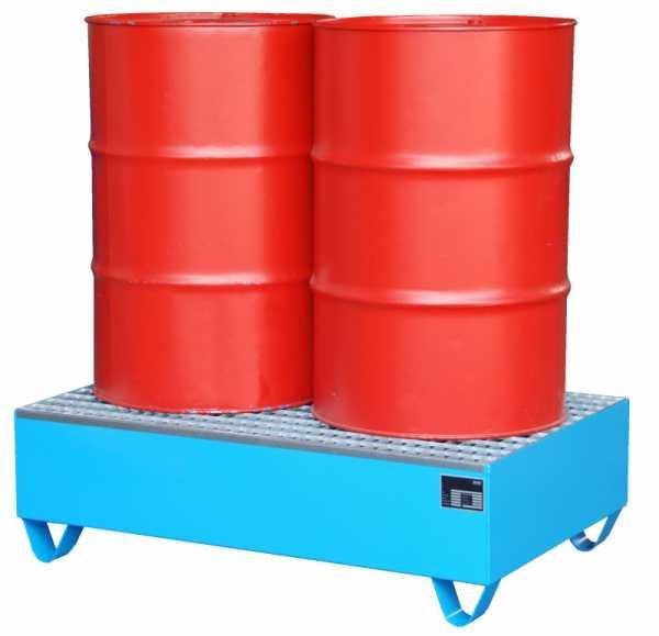 Auffangwanne Typ ECO 2/200 - Auffangwanne zur Lagerung von 2 x 200-l-Fässern